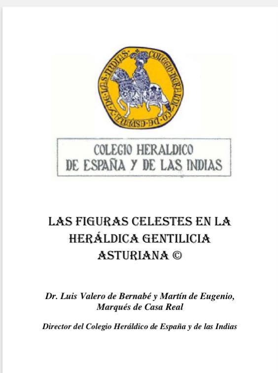 Las Figuras Celestes en la Heráldica Gentilicia Asturiana.