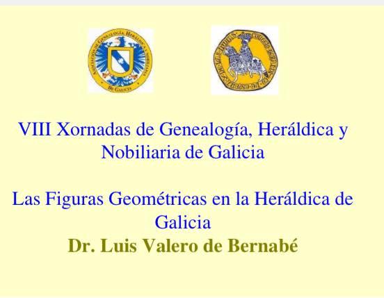 Las Figuras Geométricas en la Heráldica de Galicia.