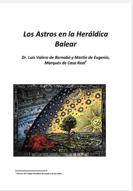 Los Astros en la Heráldica Balear.
