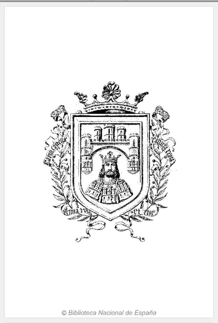 El escudo de armas de la ciudad de Burgos.